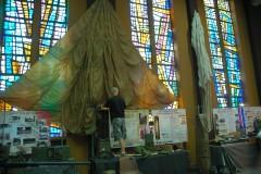 Installation du parachute